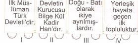 6.sınıf sosyal bılgıler ıpek yolunda turkler testlerı 7