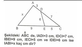 8.Sınıf MatematıkUcgende Eşlık Benzerlık  Testlerı 13