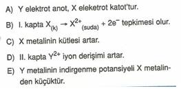 11.sınıf kımya elektro kımya testlerı 40