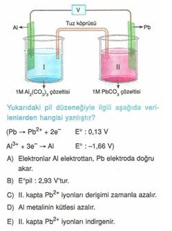 11.sınıf kımya elektro kımya testlerı 5