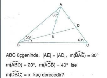 9.sinif geometri cokgende aci testleri 15.