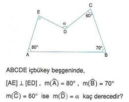 9.sinif geometri cokgende aci testleri 16.