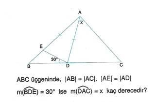 9.sinif geometri cokgende aci testleri 45.