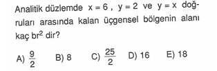 9.sınıf cokgende cevre ve alan testleri 27.