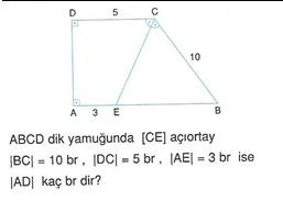 9.sınıf cokgende cevre ve alan testleri 5