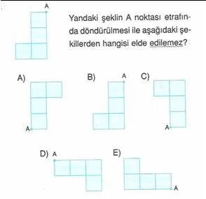 9.sınıf geometri donusumler ve kaplamalar testleri 4.