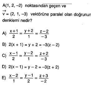 12.sinif-analitik-geometri-uzayda-vektor-dogru-ve-duzlem-testleri-12.