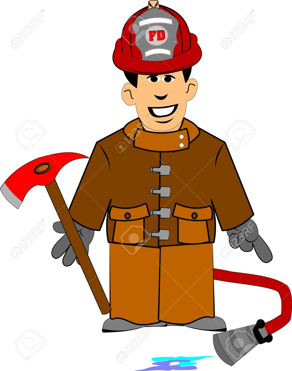 17043996-fireman-clipart-Stock-Vector