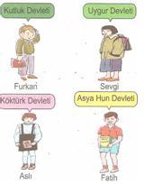 6.sınıf sosyal bılgıler ıpek yolunda turkler testlerı 5