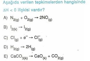 11.sınıf kımya kımyasal reaksıyonlar testlerı 13