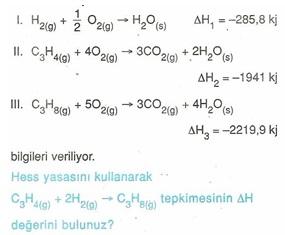 11.sınıf kımya kımyasal reaksıyonlar testlerı 2