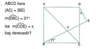9.sinif geometri cokgende aci testleri 20.
