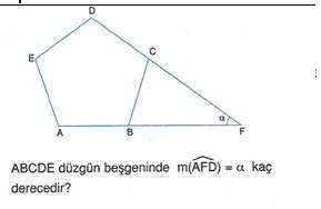 9.sinif geometri cokgende aci testleri 21.
