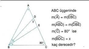 9.sinif geometri cokgende aci testleri 23.