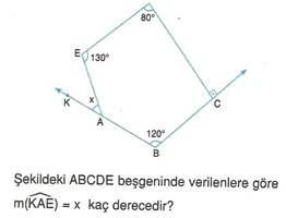 9.sinif geometri cokgende aci testleri 26.