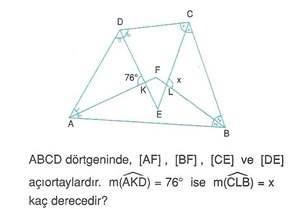9.sinif geometri cokgende aci testleri 51.