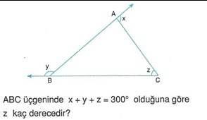9.sinif geometri cokgende aci testleri 7.